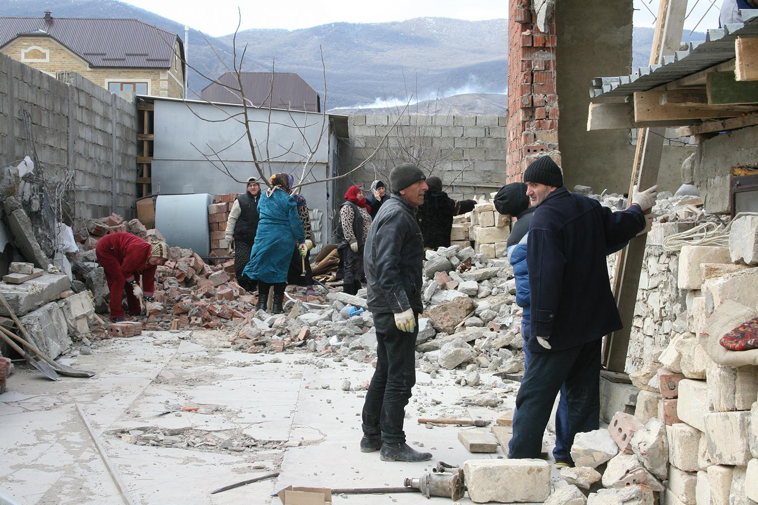 Quote for the Week. Tanya Lokshina: 'Justice is finally coming to the small, remote village of Vremenny in Dagestan'