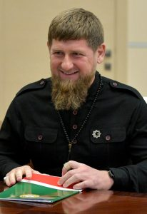 Quote for the Week. Ramzan Kadyrov: 'I'll take a club to those who need it. I'll throw them in prison and put them underground, but I will protect my people.'
