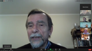 Andrei Babushkin summarises Lev Ponomarev's presentation at the 44th anniversary of Moscow Helsinki Group on his role in the human rights movement