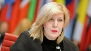"""Quote for the Week. Dunja Mijatović: """"The existing legal framework unduly restricts the work of civil society organisations in the country"""""""