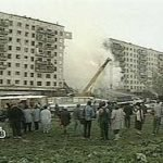 Remember the date. Apartment building on Moscow's Kashirskoe Highway blown up killing 119 on 13 September 1999