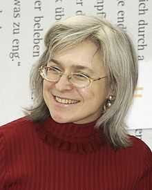 Remember the Date: Journalist Anna Politkovskaya was shot dead in Moscow on 7 October 2006
