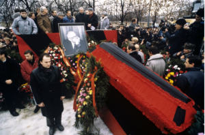 Lev Ponomarev: Shared public grief at Sakharov's parting